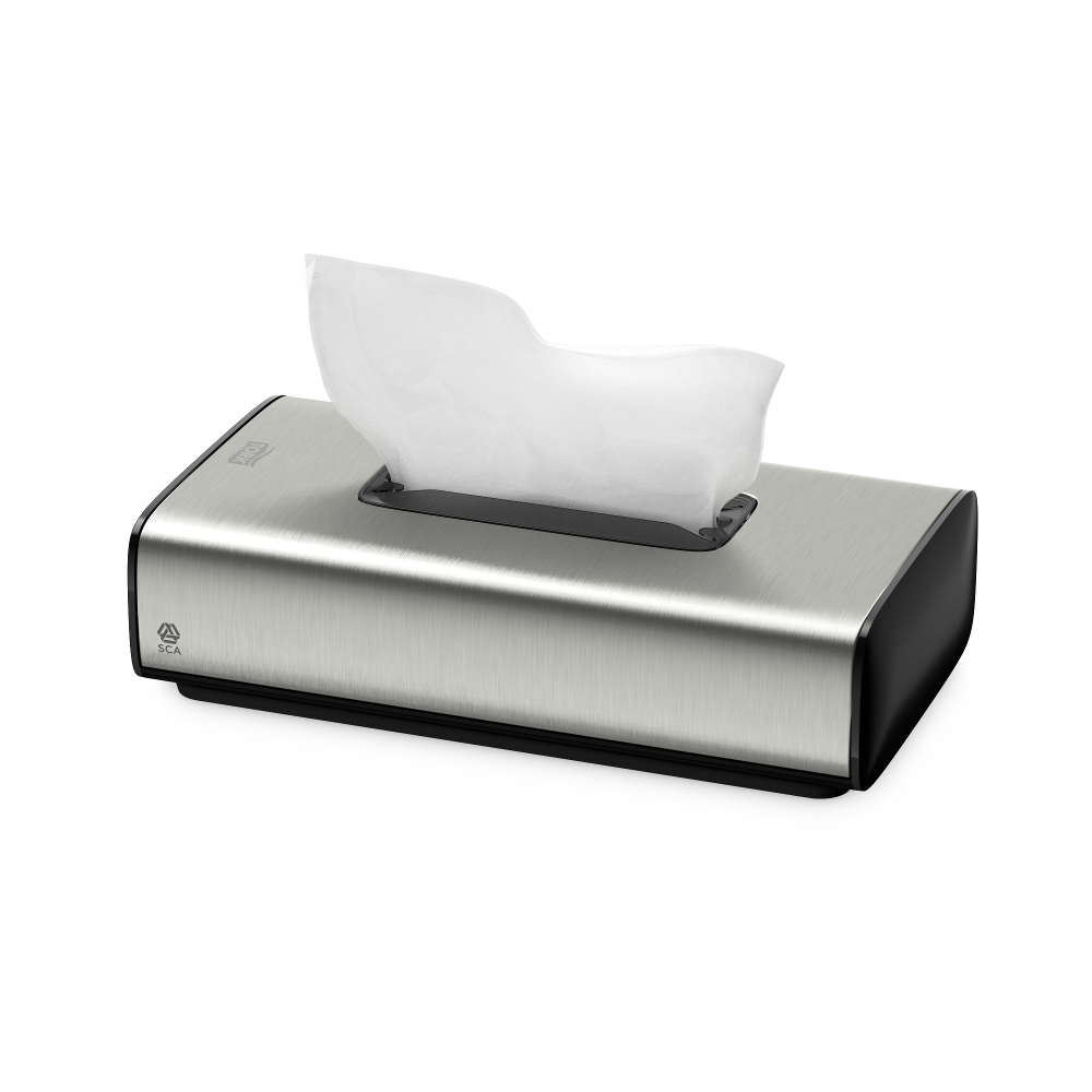 Tork facial tissue dispenser