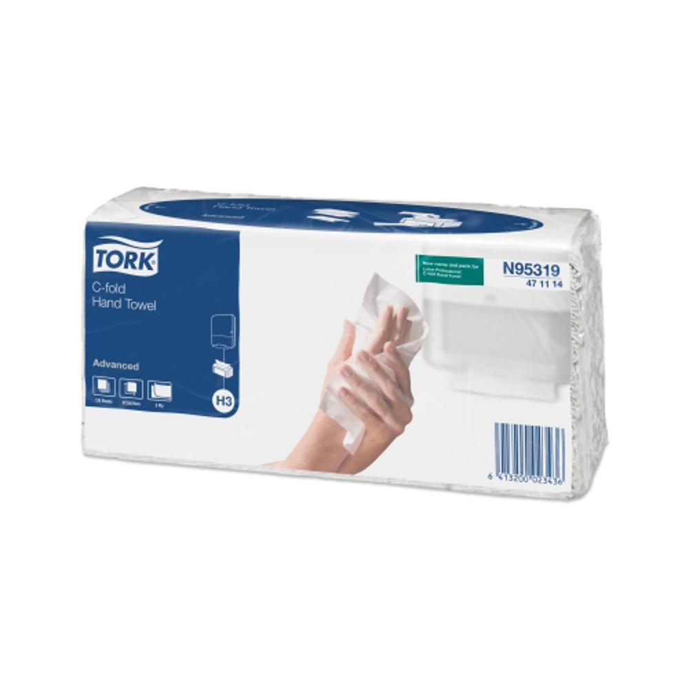 Бумажные полотенца Plus 2 C-fold