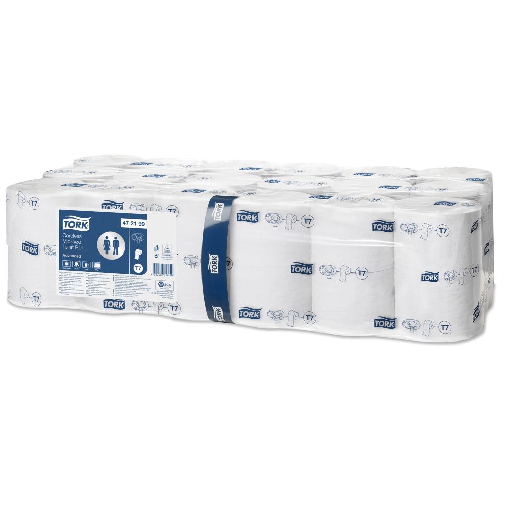 Tork bezserdes tualetes papīrs T7