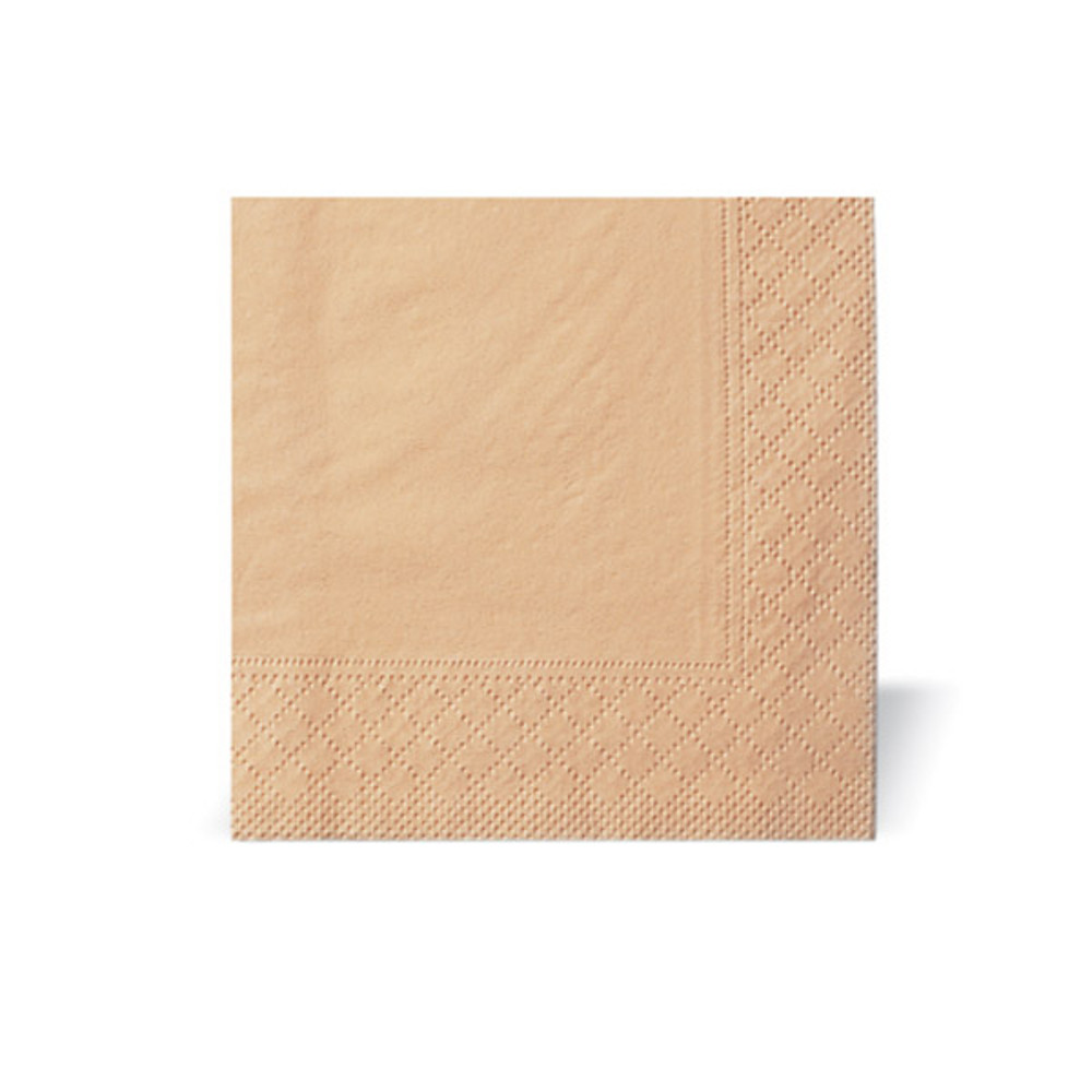 Table napkins 1/4 folded