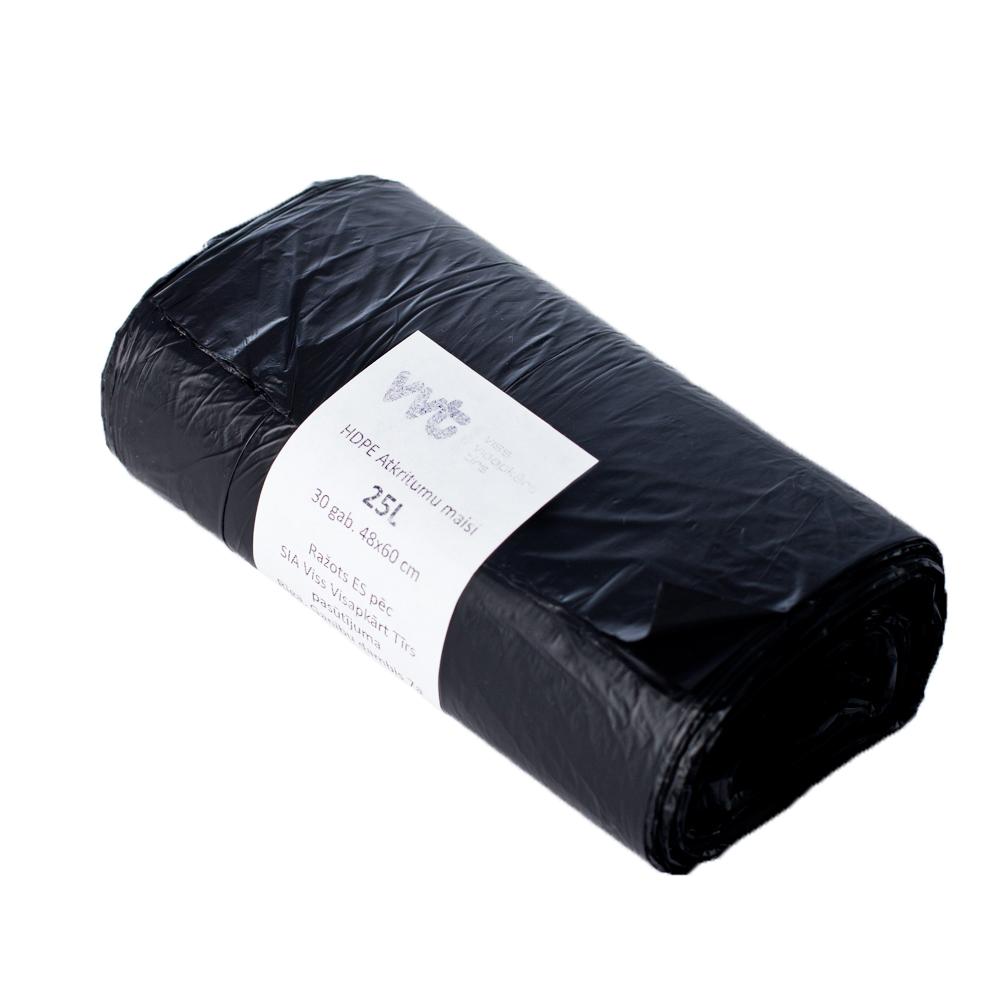 Мешки для мусора из ПЭВП, черные