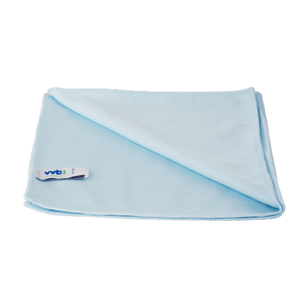 Glass cleaning and polishing cloth