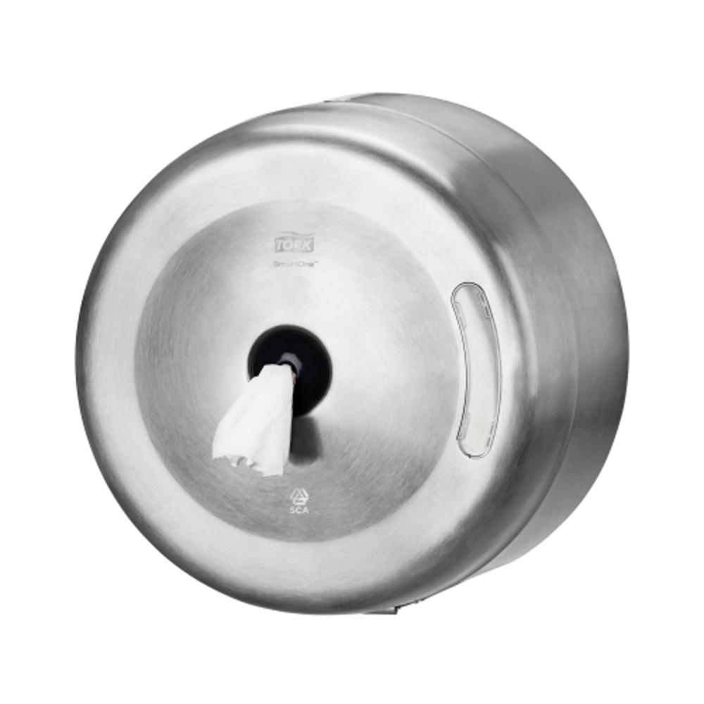SmartOne toilet paper dispenser stainless steel