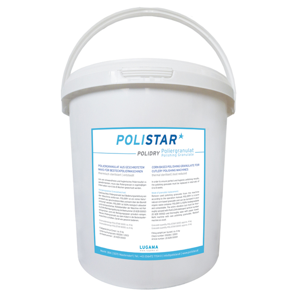 POLISTAR pulēšanas granulas