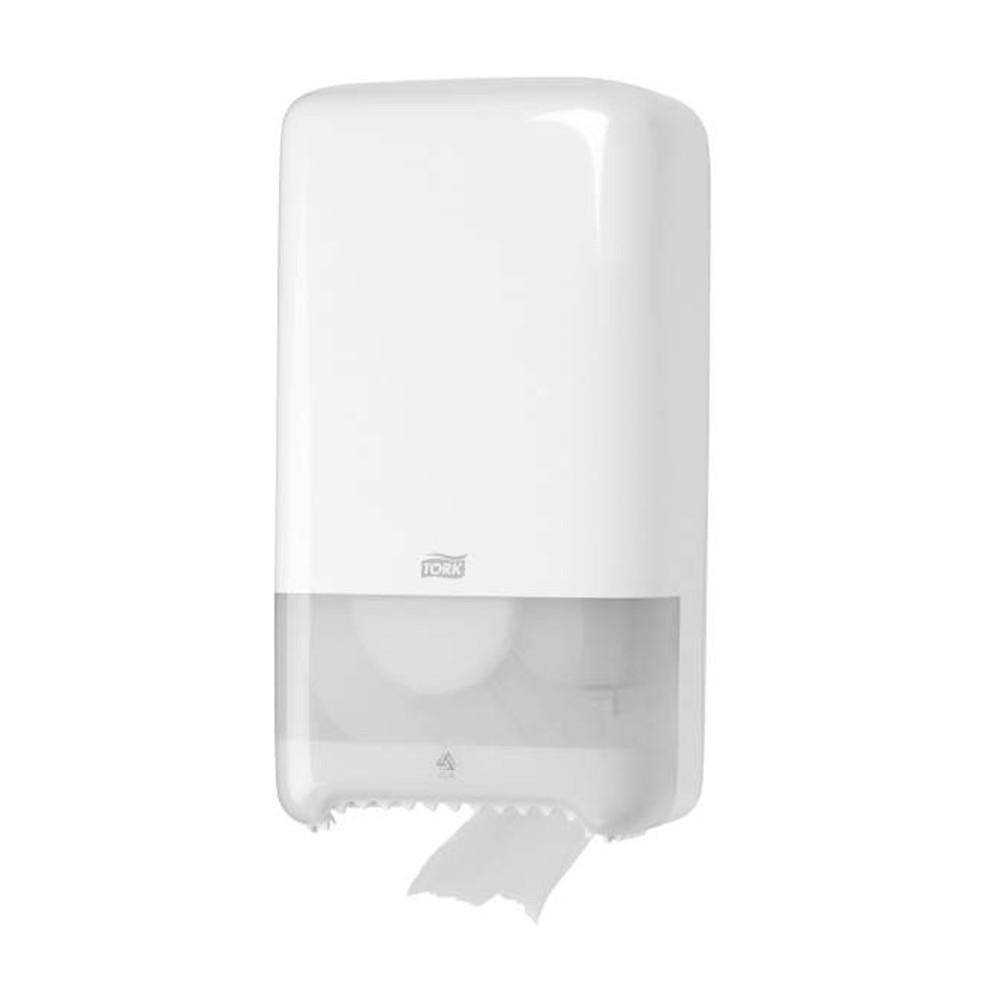 Tork Twin Mid-size Toilet Roll Dispenser
