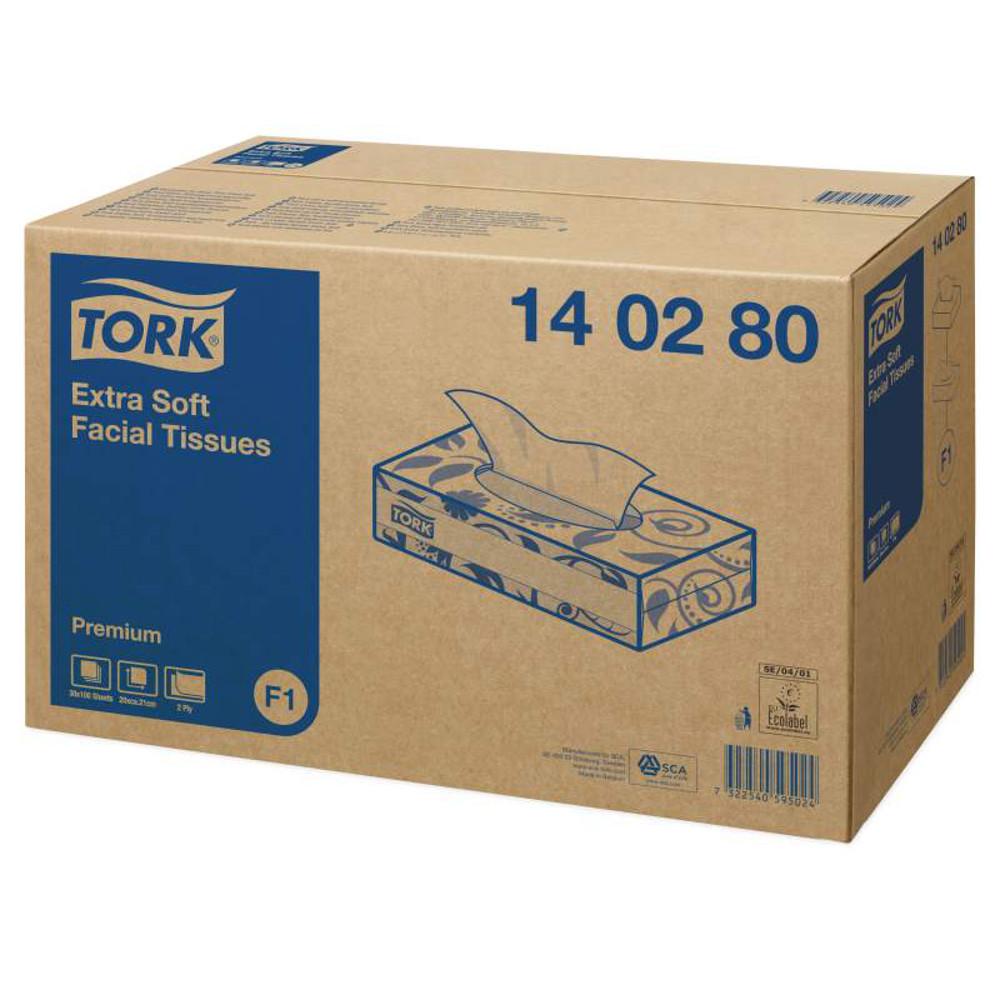 Tork Extra Soft Facial Tissues