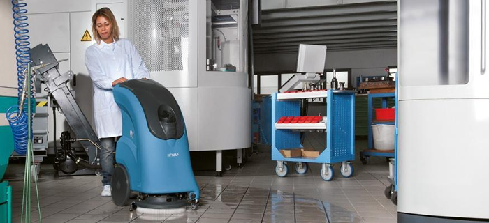 New generation scrubbing and sweeping machines