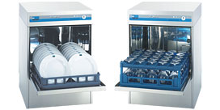 Under counter dishwashing machines